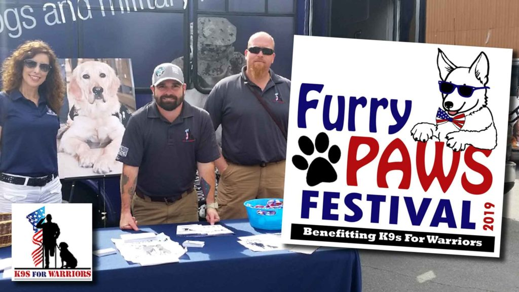 See how we helped K9s for Warriors with their Furry Paws Festival