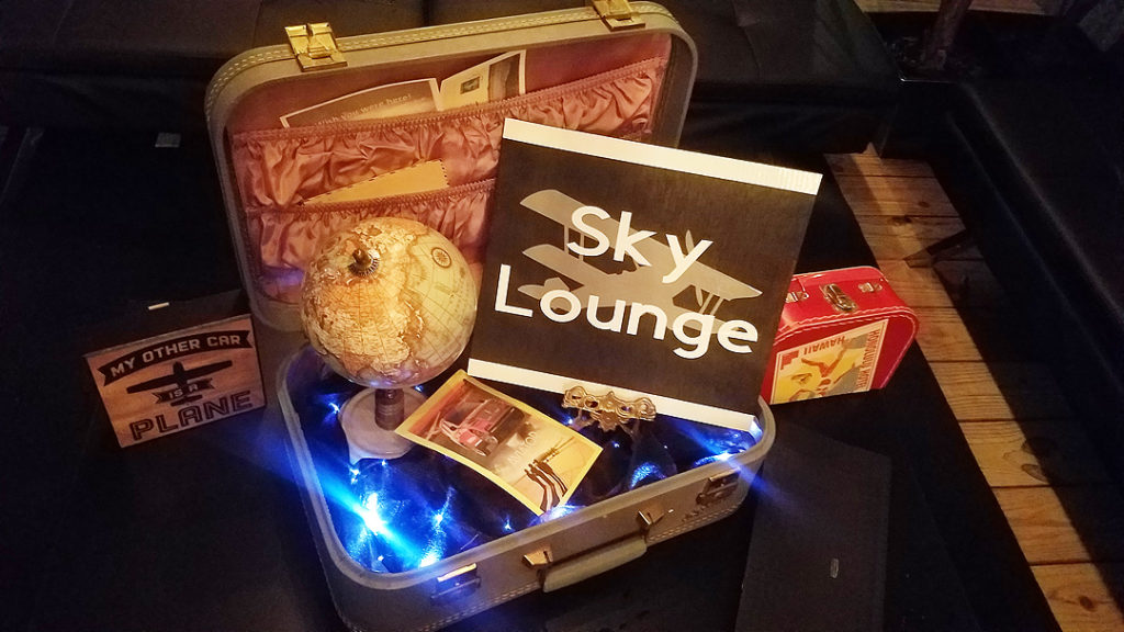 Aviation-themed event