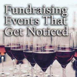 fundraising events that get noticed